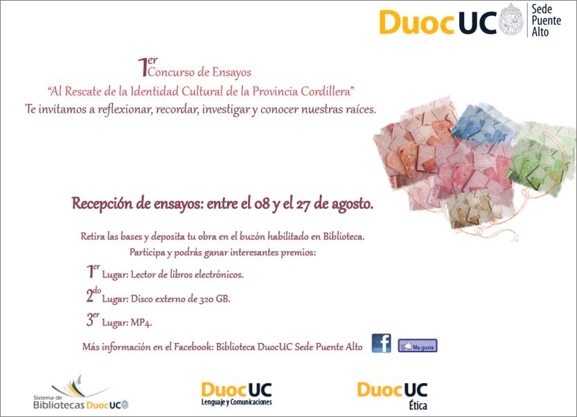 Biblioteca Puente Alto: Invita al